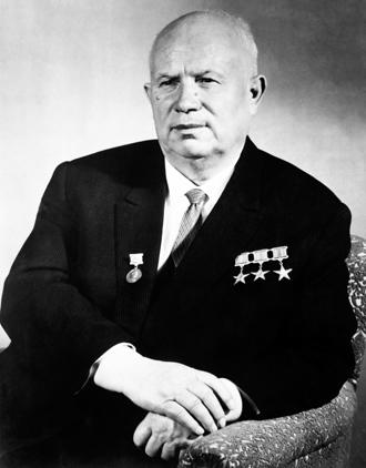 Soviet leader Nikita Khrushchev (AFP Photo)