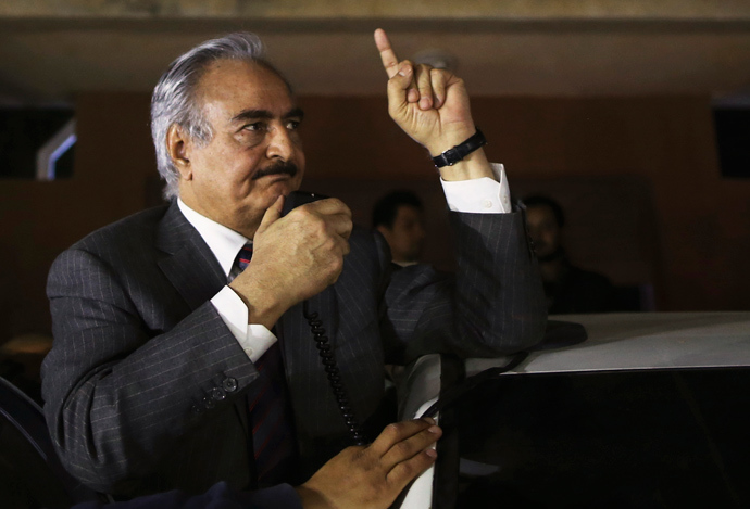 Former Libyan commander Major General Khalifa Haftar (Reuters / Esam Omran Al-Fetori)