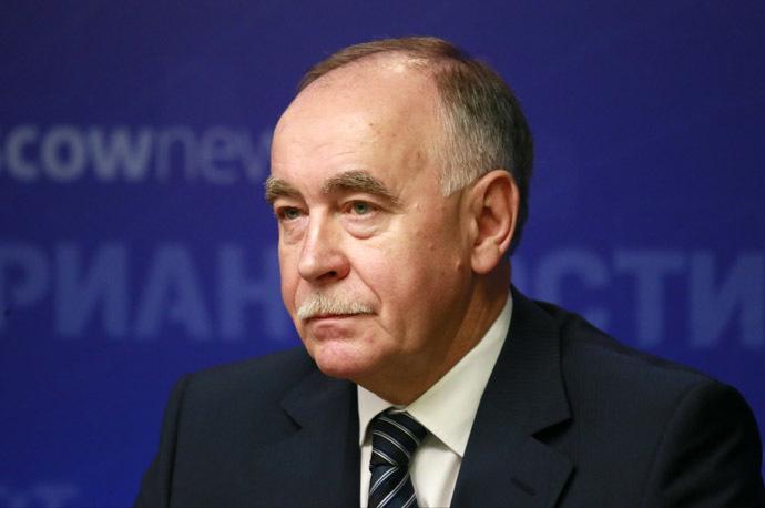 Viktor Ivanov, chairman of the State Anti-Drug Committee, director of the Federal Drug Control Service (RIA Novosti/Alexander Natruskin)