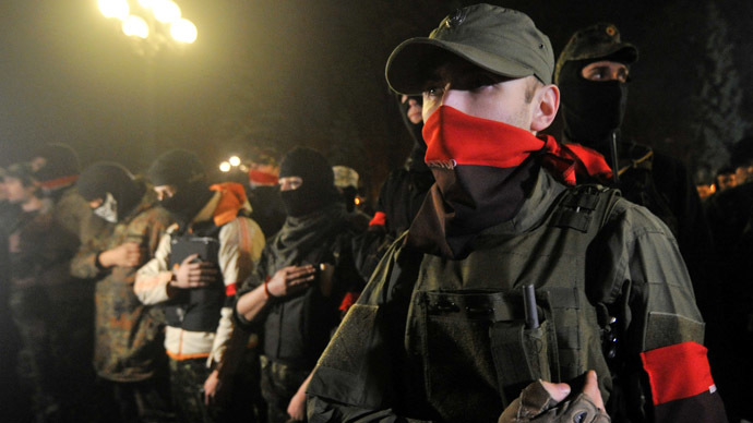Ukrainian ultranationalist leader calls for guerilla war against pro-federalists