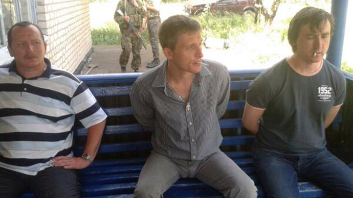 Moscow demands OSCE take measures to free journalists detained by Kiev