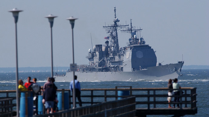 US missile cruiser to enter Black Sea amid NATO drills in Eastern Europe – military source