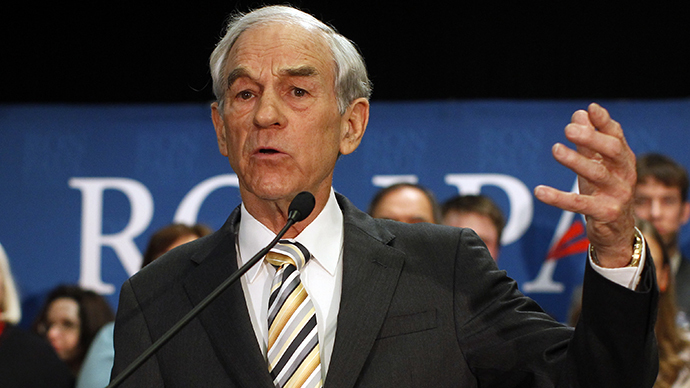 Ron Paul: 'The more money the state has the greater its ability to violate our liberties'