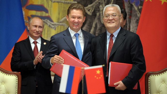 Gazprom to start gas deliveries to China from 2019
