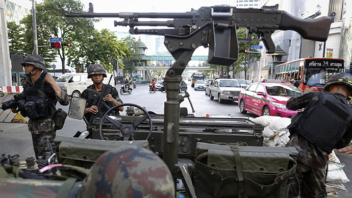 Thailand army declares martial law, insists move 'is not a coup'