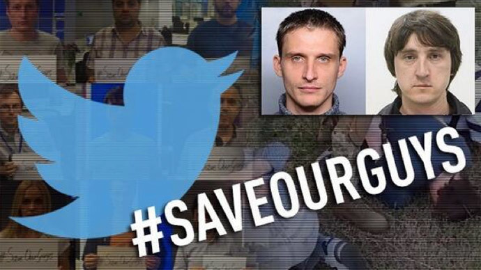 #SaveOurGuys tops Russian Twitter, demands release of Ukraine-held journalists