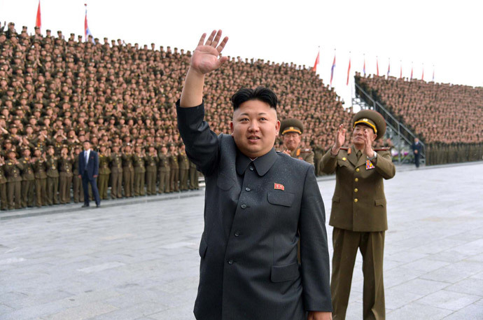 North Korean leader Kim Jong-Un.(AFP Photo / KNS)