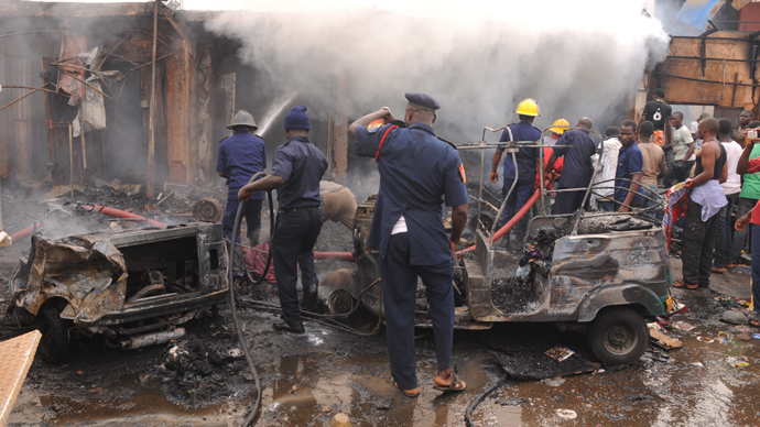 Over 100 killed in Nigeria twin blasts
