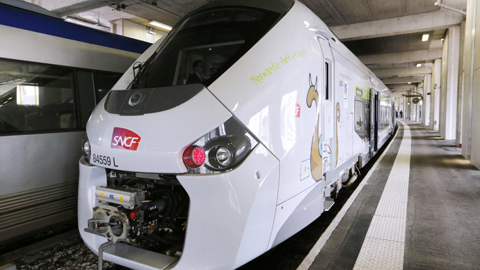 Rail fail: French company orders $20bn worth of trains too wide for platforms
