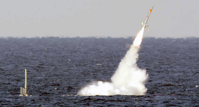 Tomahawk cruise missile (Reuters/U.S. Navy photo)