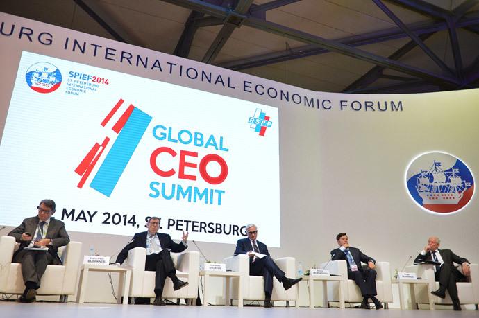 17th St. Petersburg International Economic Forum.(RIA Novosti / Vladimir Astapkovich)