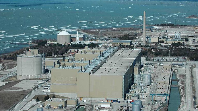 Michigan protests plan to store millions of gallons of nuclear waste next to the Great Lakes