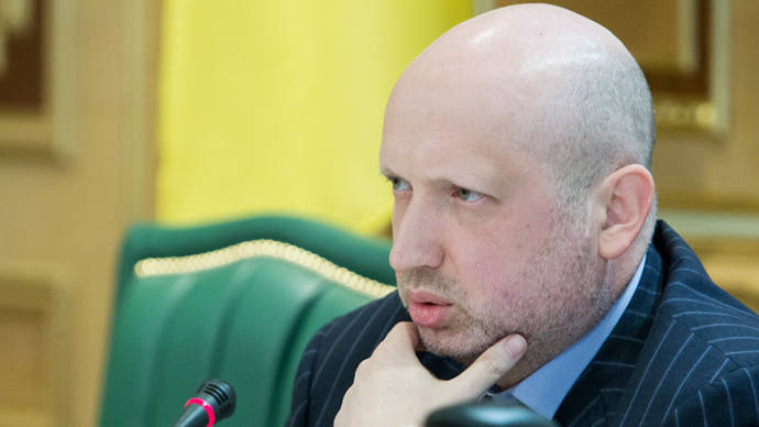 Ukraine's acting president Oleksander Turchinov (Reuters / Mykhailo Markiv)