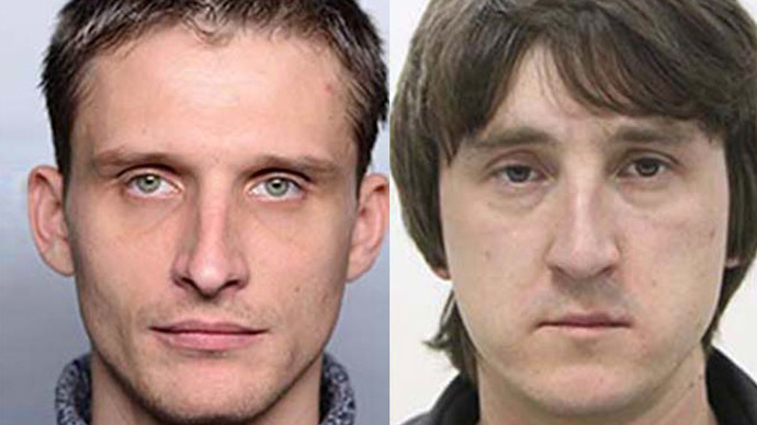 Journalists Oleg Sidyakin and Marat Saichenko. (Image from www.lifenews.ru)