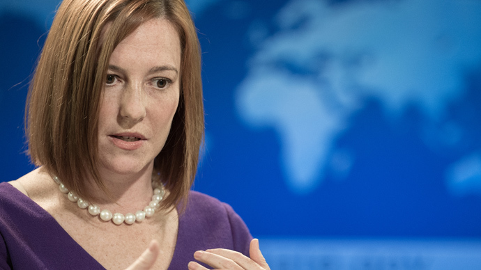 US State Department spokeswoman Jen Psaki (AFP Photo / Paul J. Richards)