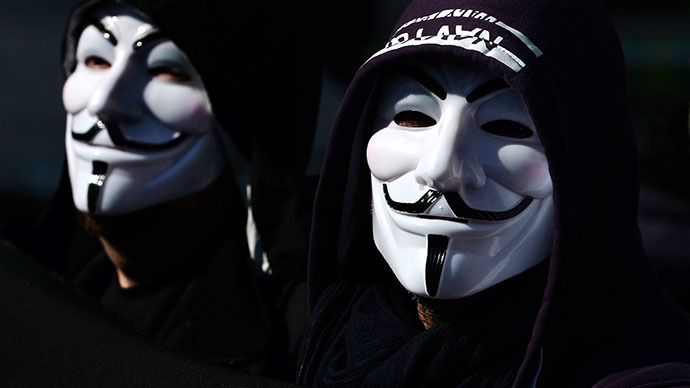 Two alleged 'Anonymous' hackers arrested by Australian police