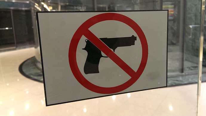 North Carolina restaurant with 'no guns allowed' sign robbed at gunpoint