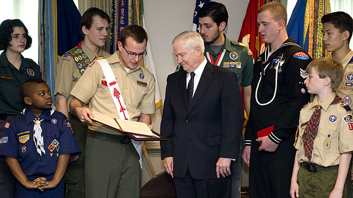 Boy Scouts name frmr Sec of Defense Robert Gates as president