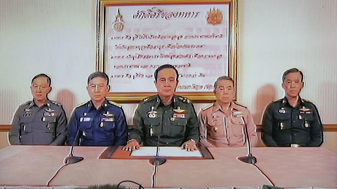 Thailand army detains ousted PM and her relatives to 'organise matters in the country'