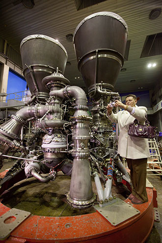 RD-180 rocket engine assembled at Energomash (RIA Novosti / Iliya Pitalev)