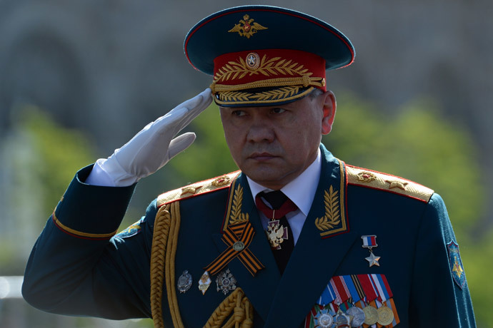 Russian Defence Minister Sergei Shoigu.(AFP Photo / Kirill Kudryavtsev)