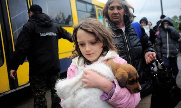 We Are All One – InTimes Of Danger Love Prevails – 2014: The Year Of Unity Consciousness – Devastating Balkans Floods – People Risk Their Lives To Save The Animals – May 2014 A-14