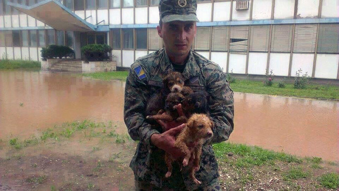We Are All One – InTimes Of Danger Love Prevails – 2014: The Year Of Unity Consciousness – Devastating Balkans Floods – People Risk Their Lives To Save The Animals – May 2014 A-7