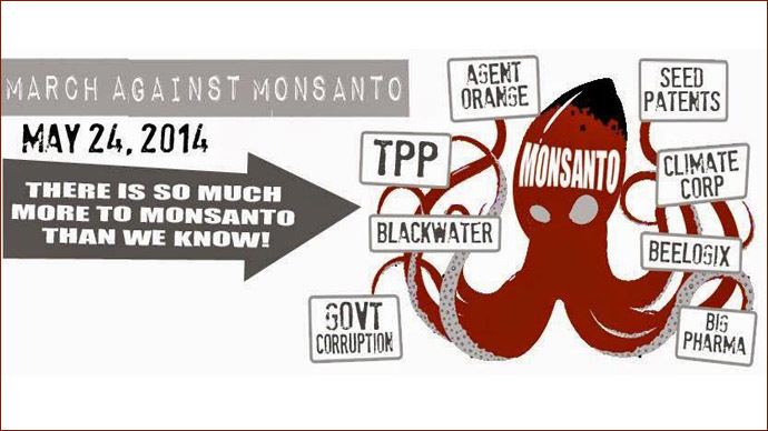 World protests Monsanto grip on food supply chain
