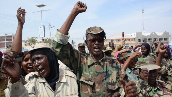 ​Somali militants assault parliament in elaborate raid