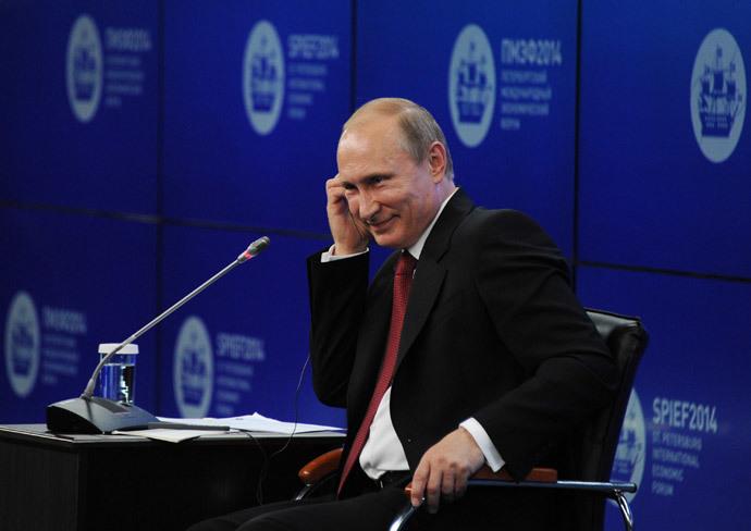 Vladimir Putin (RIA Novosti / Michail Klimentyev)