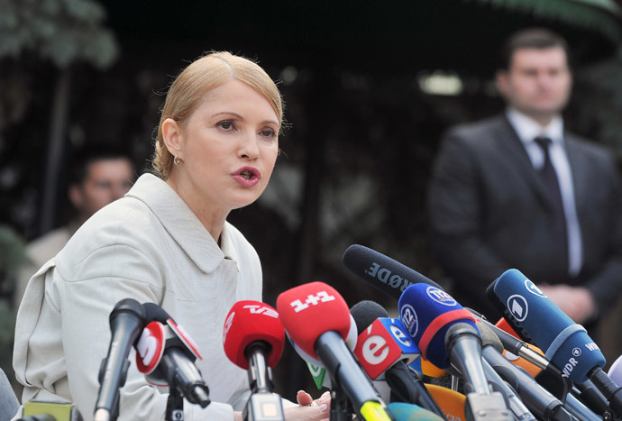 Yulia Tymoshenko (AFP Photo / Genya Savilov)