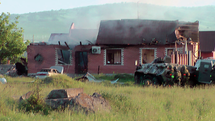 Russian security forces eliminate southern republic's militant leader