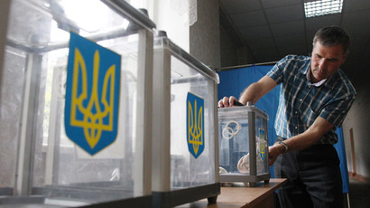 'Cyber-attack' cripples Ukraine's electronic election system ahead of presidential vote