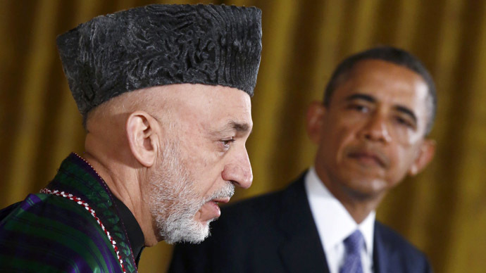 Karzai refuses to meet Obama at Bagram Airfield