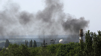 Up to 100 killed in Kiev military op, Donetsk E. Ukraine - anti-govt forces