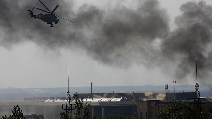 Alarm in Donetsk as people brace for Ukrainian forces attack