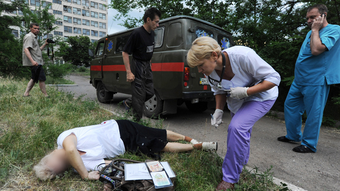 'Slaughterhouse': Civilians die in Kiev's ruthless military attacks (GRAPHIC)