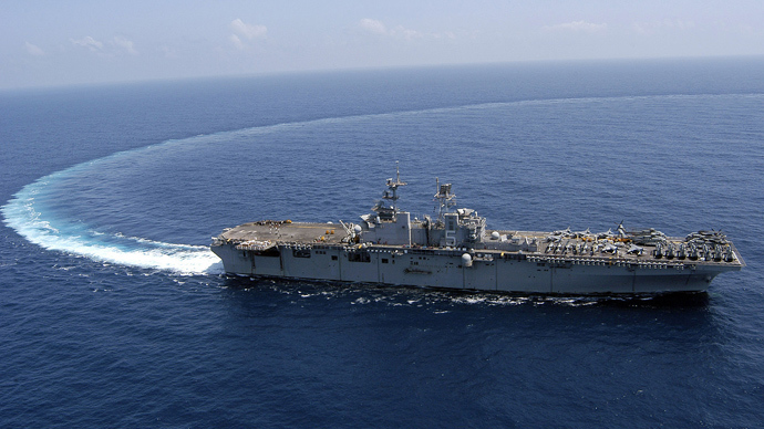 'Depart immediately!' US sends 1,000 marines on assault ship to Libya