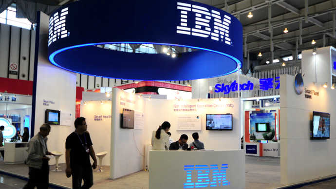 China urges banks to remove IBM servers over espionage concerns – report
