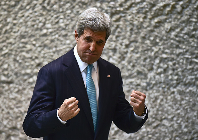 US Secretary of State John Kerry (AFP Photo / Ronaldo Schemidt)