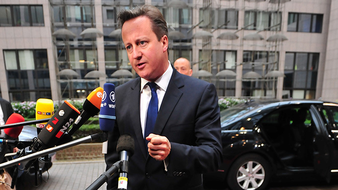Cameron says Brussels 'too big & too interfering' in wake of EU elections