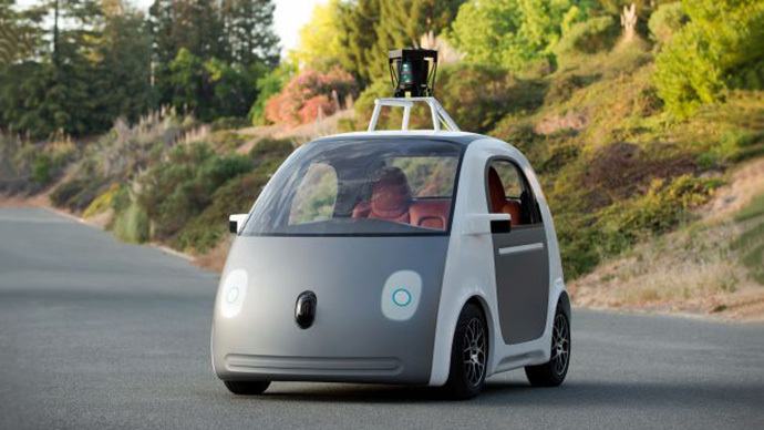 Throw away your driving license: Google launches new self-driving car