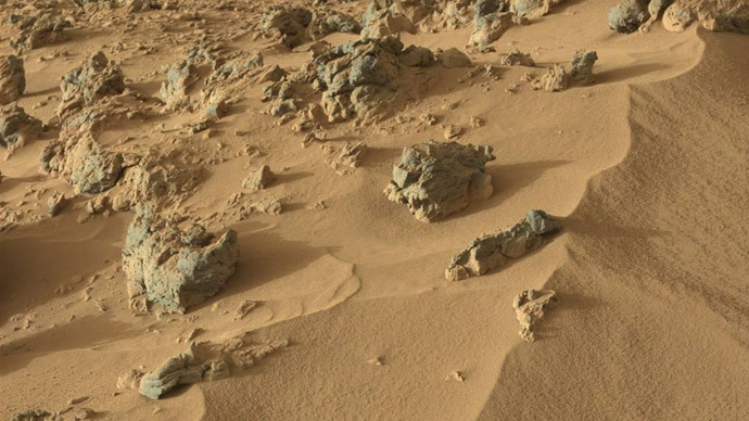 Surface of Mars.(AFP Photo / NASA)
