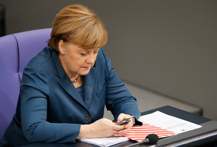 German Chancellor Angela Merkel.(Reuters / Fabrizio Bensch)