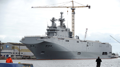 France to deliver Mistral warship to Russia despite US, UK criticism