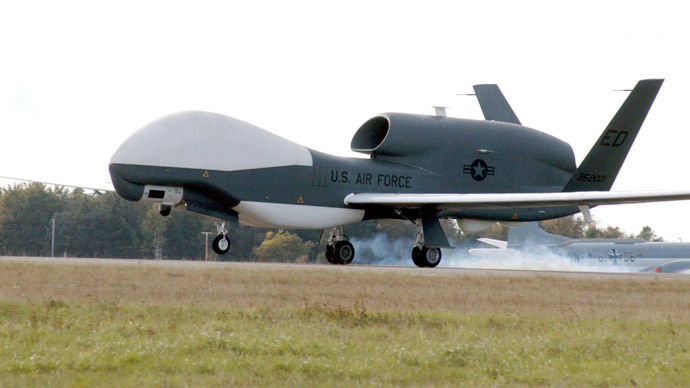US deploys two advanced military drones in Japanese airbase