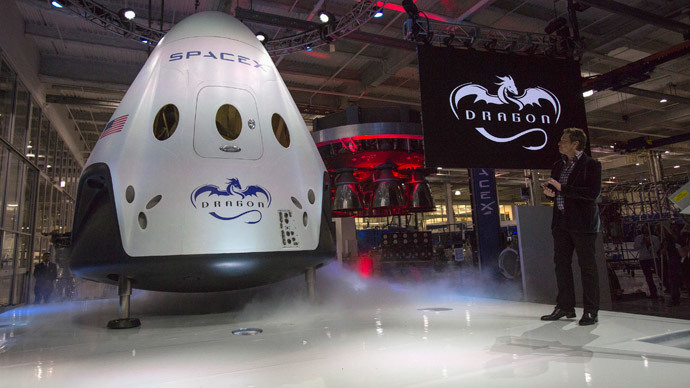 SpaceX founder unveils his 'future of space travel' capsule