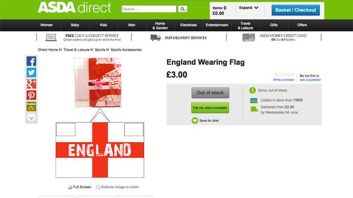 'Ku Klux Klan-like' England World Cup hoodie slammed