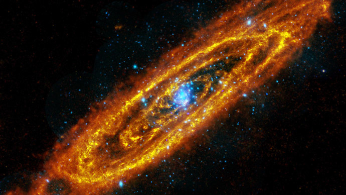 Milky Way, Andromeda galaxies set to collide in giant game ...