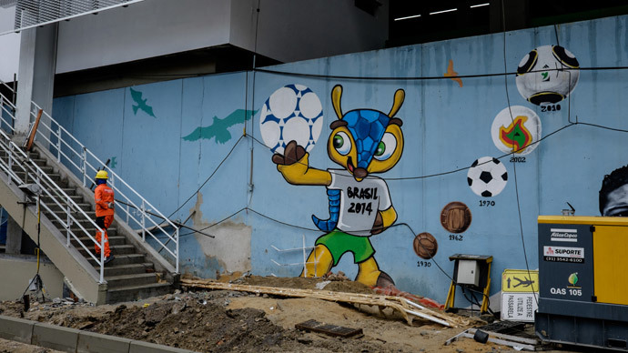 Brazilian World Cup host city battling dengue fever epidemic